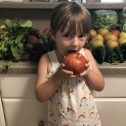 kids eat veggies local food