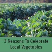 celebrate local vegetables