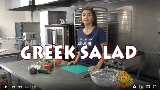 easy meal greek salad how to
