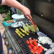 veggie grilling dad