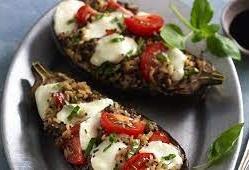Eggplant caprese recipe