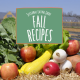 seasonal eating guide fall recipes